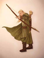 Legolas - Made of paper by TatharielCreations
