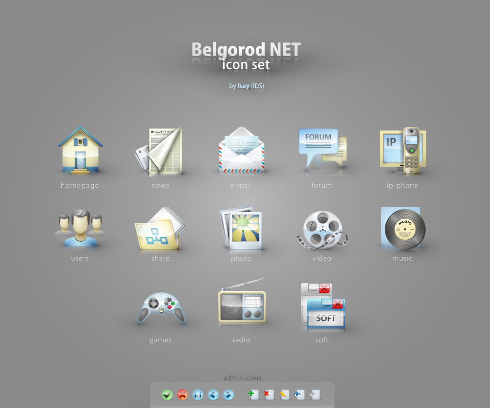 Belgorod-NET icon set by i-s-a-y