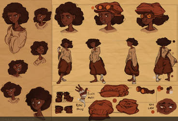 Character Sheet by MzWaffle