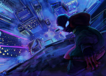 Into the Spider-Verse by MzWaffle