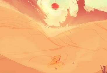 Desert Sun by MzWaffle