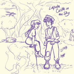 Laputa: The Castle in the Sky by mexicananime06