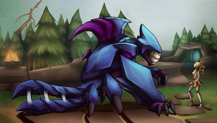 League of Legends - Fetch! by M-hourglass