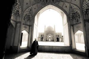 Agha Bozorg Mosque, Kashan by hofiak