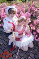 Shaoran and Sakura by lilie-morhiril