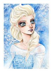 Elsa - Frozen by lilie-morhiril