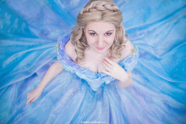 Ella from Cinderella by lilie-morhiril