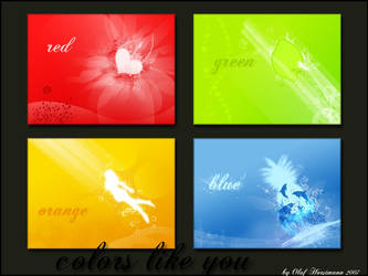 colors like you by oNh