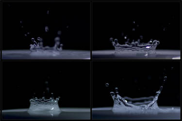 waterdrops in motion by oNh