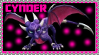 Cynder the Dragon Stamp by AESD