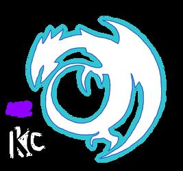 Blue-Eyes White Dragon Insignia by AESD