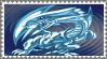 Original Blue-Eyes White Dragon Stamp by AESD
