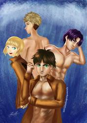 Shingeki no Free by ryusenka