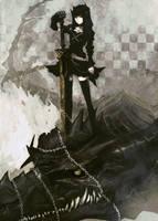 dragon slayer by ryoheihuke