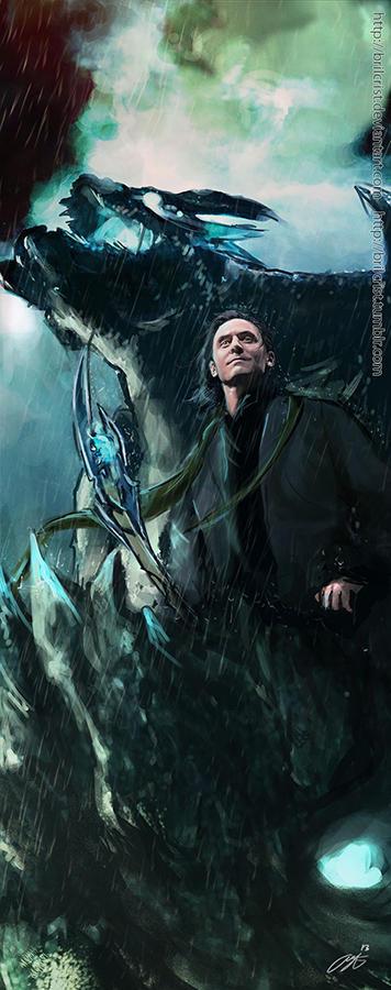 Loki- Pacific Rim AU by Brilcrist