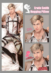 Erwin Smith Dakimakura by Brilcrist