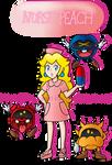 Commission- Nurse Peach by IceCreamLink