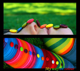 My way on colour by filbuster