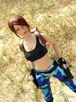 Nevada Tonner Lara Croft 9 by Laragwen