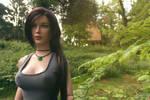 Rise of the Tomb Raider : Desert Tank top 02 by Laragwen