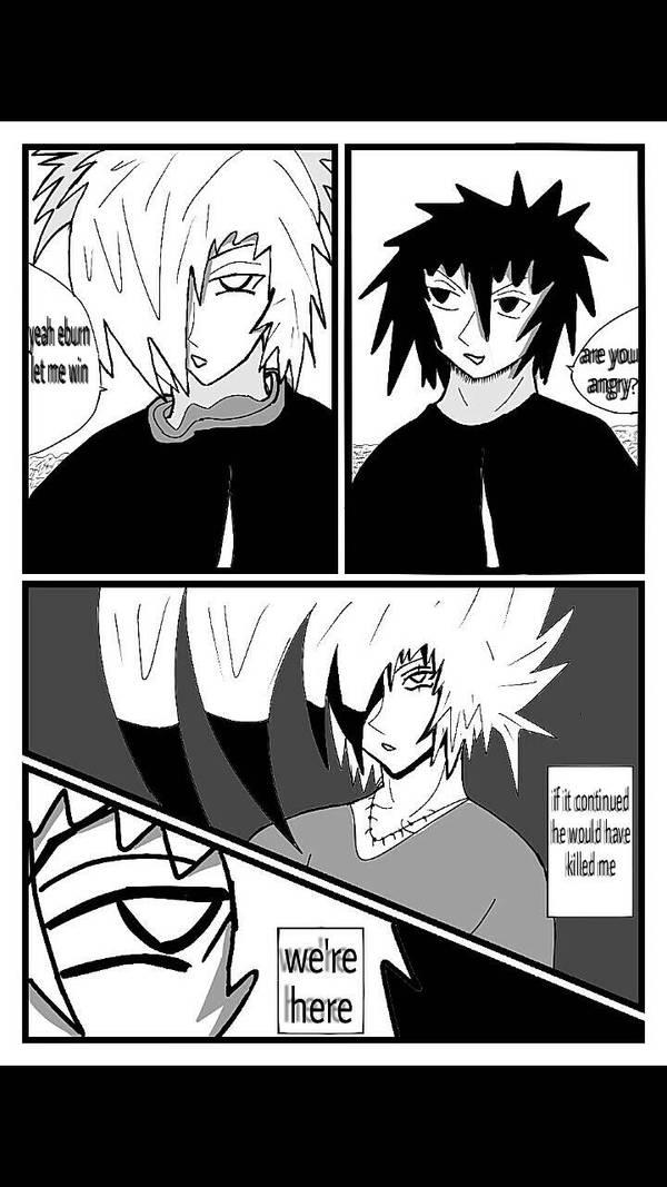 Eburn manga page by Zyke1