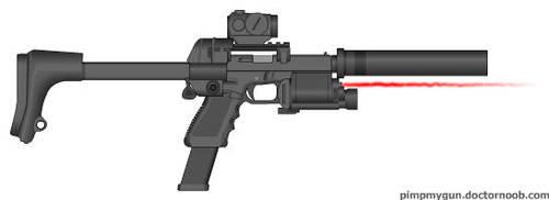 Ulti-Pistol by Ajax4