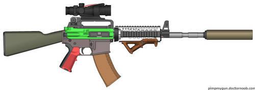 Franken-AR-47 by Ajax4