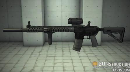 Another Custom AR Build by Ajax4