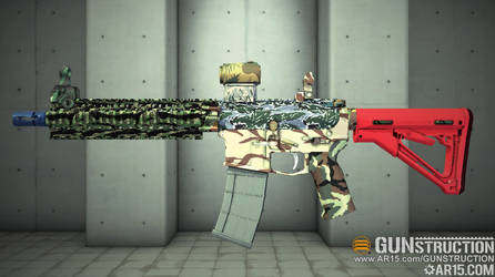 Colorful Explosion AR by Ajax4