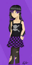 (RQ) Dark Lisa by nekoDawnlight