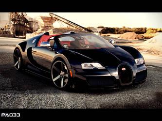 Bugatti Veyron Grand Sport by pacee