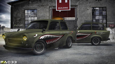 Trabant 601 by pacee