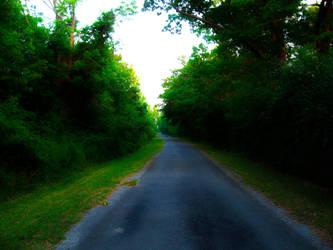 Glowing Path by SeriahAzkath