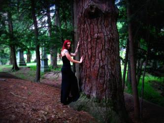 Raven and the Tree by SeriahAzkath