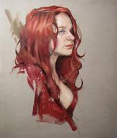 Red Dress by ClintonHobart