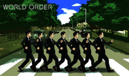 World Order on Abbey Road by HaryuDanto