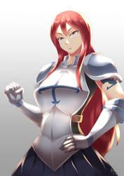 Erza Scarlet by HaryuDanto