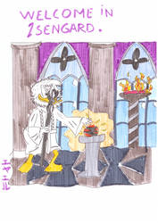 Lord of The Ducks: Saruman by Eyaelle