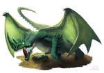 Green Dragon by ramzat