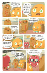 Oswald the Orange Pg.3 by sexysexybicycle