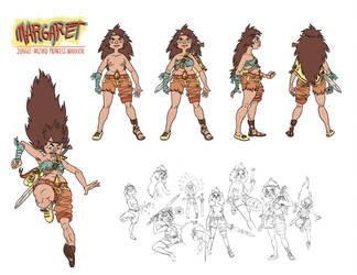 Jungle-Wizard Princess Warrior by sexysexybicycle