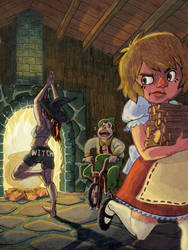 Hansel and Gretel by sexysexybicycle