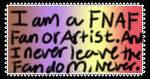 FNAF stamp by Polarbearshygirl