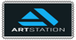 Artstation Stamp by Polarbearshygirl