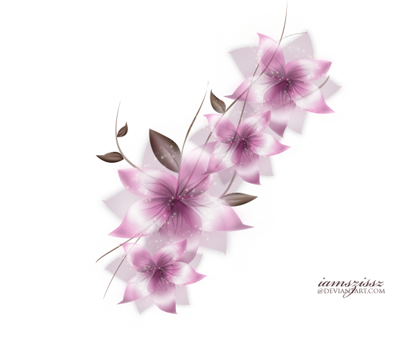 Flowers Vector Drawing Png: Vector Png Flower By Iamszissz On DeviantArt