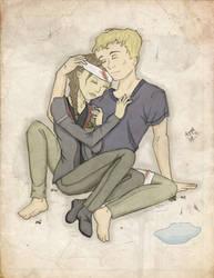 Katniss and Peeta I by FanatikerFrau