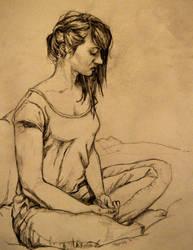 Self-portrait a14 by FanatikerFrau