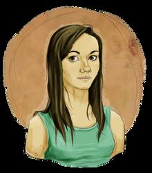 Self-portrait by FanatikerFrau