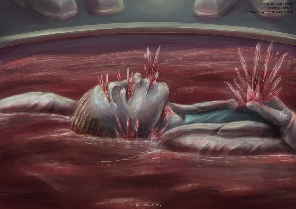 SCP Art: SCP-009 - Red Ice by GamingHedgehog