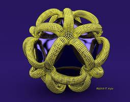 3D hollows #2 by fractalyst